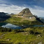 Bear Hat Mountain and Hidden Lake