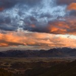 Hanmer Springs Sunset