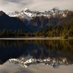 Lake Matheson & Mount Cook
